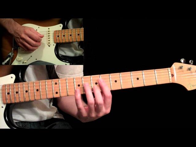 Manhattan Guitar Lesson Pt.6 Eric Johnson Bridge 3rd B Section