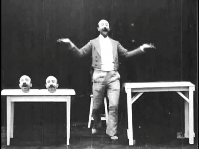 Un homme de têtes or The Four Troublesome Heads by Georges Melies 1898
