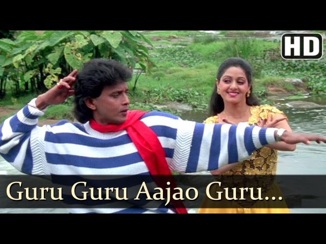 Guru Guru Aajao | Waqt Ki Awaz | Mithun | Srdevi | Bollywood Songs | Kishore Kumar | Asha Bhosle
