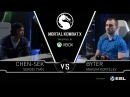 Chen sek vs Byter MKX Pro League CIS Regional Finals LB Ro4b