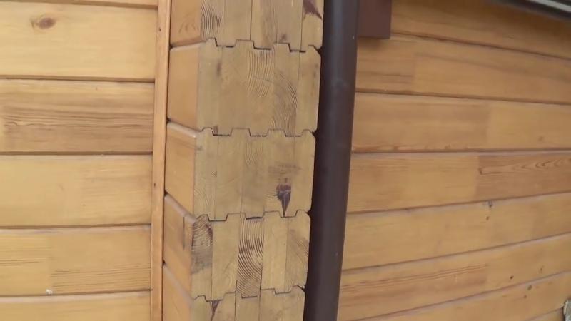 Ошибки при строительстве домов из профилированного бруса ОБЗОР ЧАСТЬ1