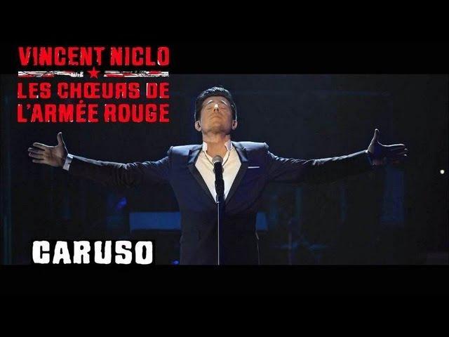 CARUSO VINCENT NICLO LES CHOEURS DE L'ARMEE ROUGE clip officiel