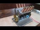 Solenoid engine Ⅴ8  電磁石エンジン