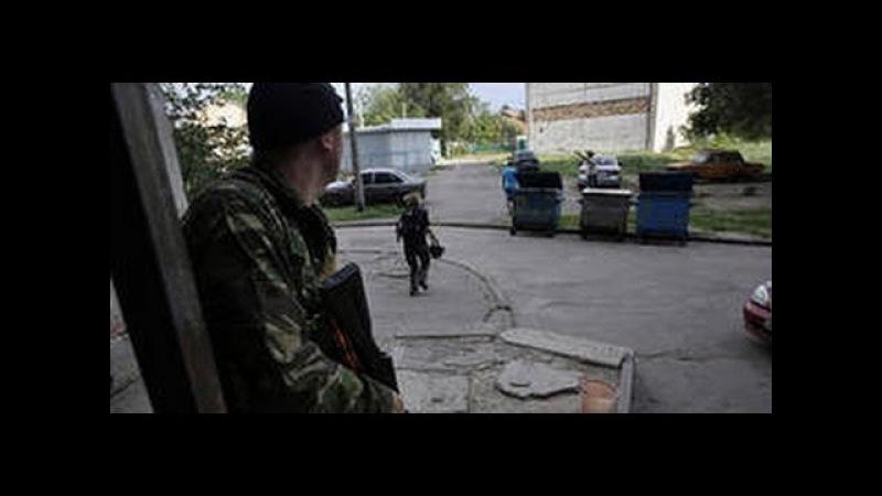 Славянск 26 мая Крупная перестрелка в городе