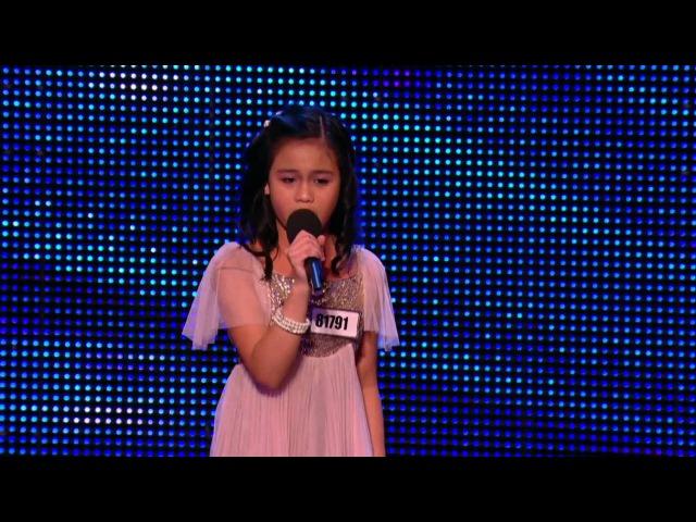 Arisxandra Libantino One Night Only Jennifer Hudson Britain's Got Talent 2013 HD