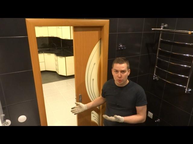 Установка раздвижных дверей в тонких стенах собственной комплектации Межкомнатные двери купе