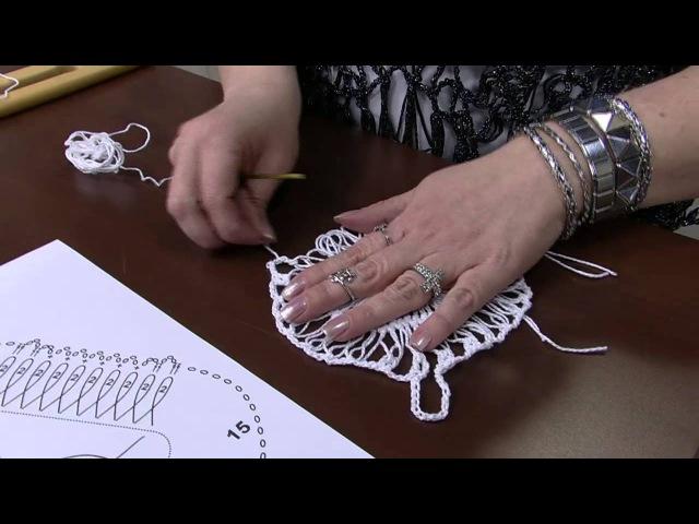 Mulher.com 06/08/2014 - Bolero Croche de Grampo por Helen Mareth - Parte 1