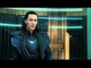 The Avengers -- Loki and Natasha Romanoff \ The Black Widow scene