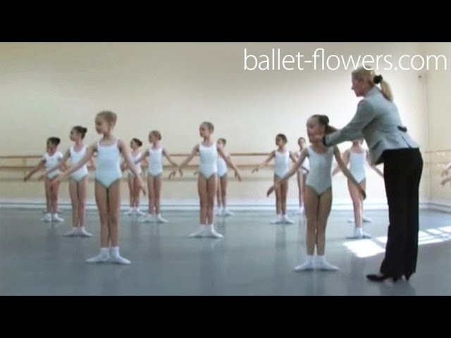 Vaganova Ballet Academy. Classical Dance Exam. Girls 0 class (pre-entry courses) 2011.