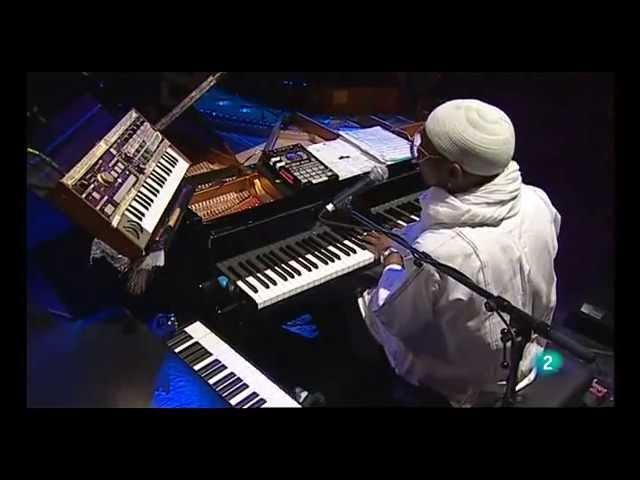Omar Sosa Cuarteto Afrocubano play Collin egunn Metisse live at the Clazz festival 2013, Madrid
