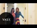 Kendall Jenner, Gigi Hadid Kim Kardashian West Do NYFW and Burgers | Vogue