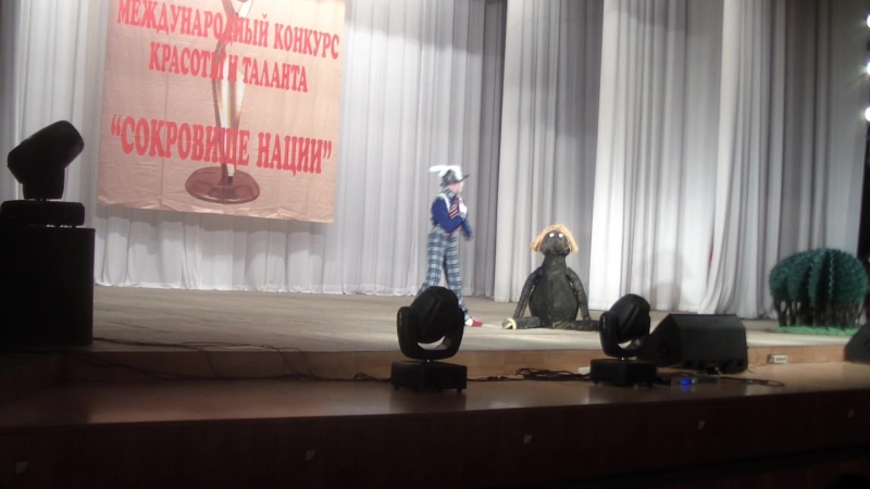 Театральная студия Братец Лис и братец Кролик Фестиваль Сокровище нации 1 е место