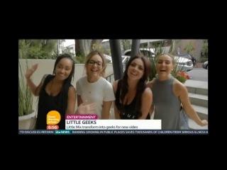 Видео со съемок видеоклипа Black Magic транслируемый на телешоу Good Morning Britain