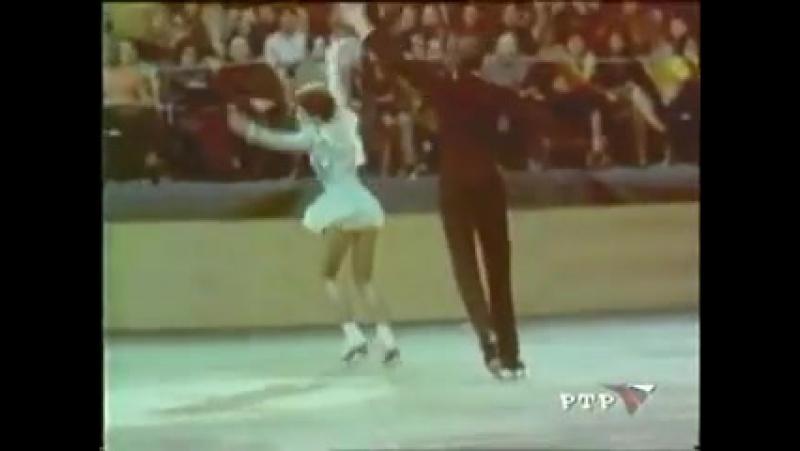 Людмила Пахомова и Александр Горшков - Первые Олимпийские Чемпионы в истории танцев на льду! Вальс из драмы Маскарад на музыку