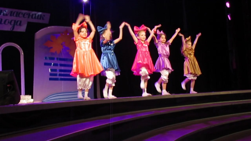 Первоклассник года 2015 Танец кукол