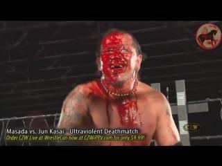 BJW, CZW (Masada vs Jun Kasai) Deathmatch