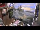 Туман. Урок живописи ,Игорь Сахаров 153