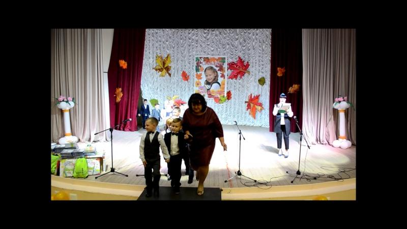 Фрагменты линейки первоклассников (01.09.2016)