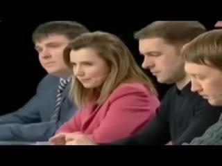 Один против всего зала на Украинском телешоу.(продолжение)