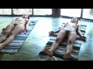 [hegre-art] 2009-10-27 anna s, brigi, melissa, muriel, suzie carina suzie nude yoga class [avi][1280x720]