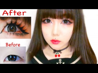 Eye Enlarging Sweet Dolly Makeup (My Favorite Look) + Products Review From YesStyle//