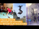 Top Three Indoor Skydiving, Mountain Boarding Snooker Trick Shots PEOPLE ARE AWESOME