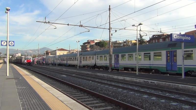 E191 012 VECTRON di CFI sul MRS 87722 Piedimonte V S L Aquino Terni in transito a Ciampino