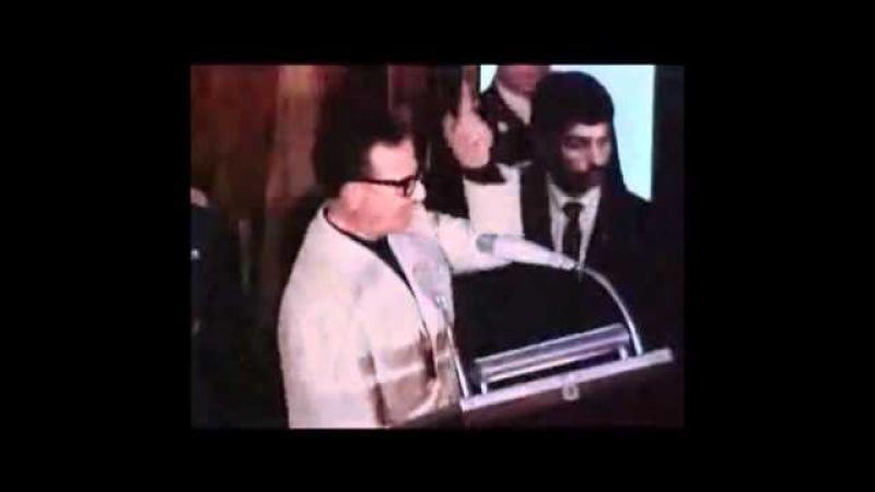 Salvador Allende Chile El mejor discurso de la Historia Universidad de Guadalajara México