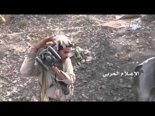 Йемен +18 Хуситы во время рейда к саудитам собирают трофеи