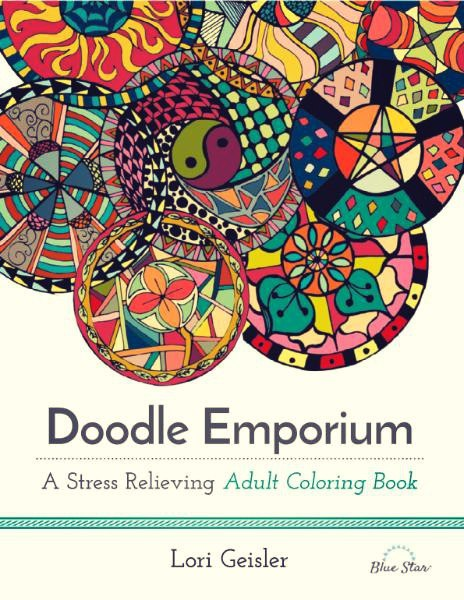Doodle Emporium - A Stress Relieving Adult Coloring Book