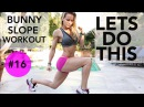 Bunny Slope Workout 16 - Full Body for Complete Beginners!