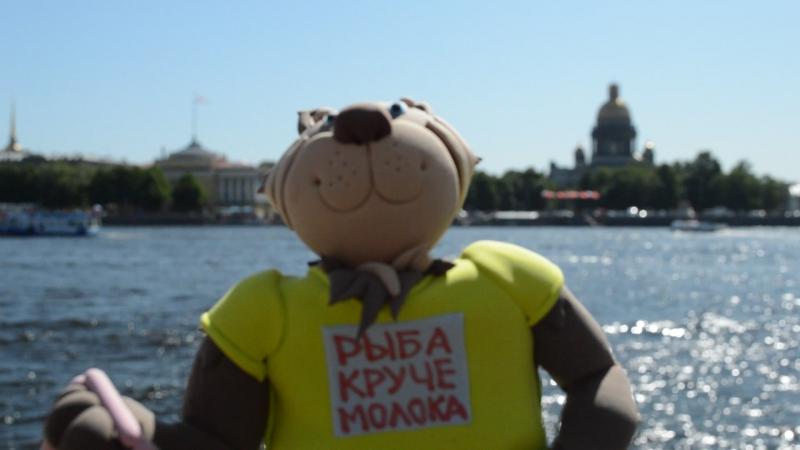 Матрасик прохлаждается на реке Неве (герой книги Кто украл крокодила? ) » FreeWka - Смотреть онлайн в хорошем качестве