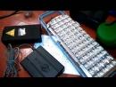 Я сам сделал универсали светильник фонарик эл спичек шокер зел лазер