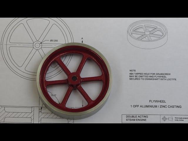 Building the Myfordboy Steam Engine Part 2 Flywheel