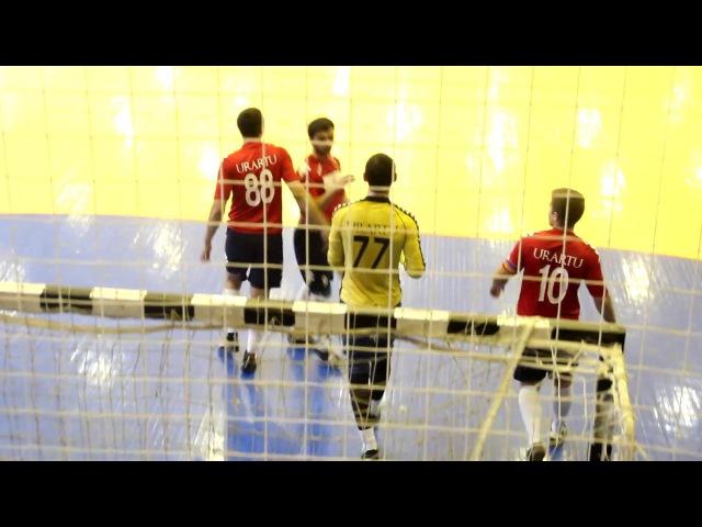 Гол Алана Габисова в матче 4 тура ФК Урарту 7 2 2 1 ФК Квадро 18 12 2016 15 00