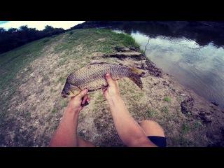 Ловля карася. Ловля судачка и окуня на джиг. Небольшая рыбалка в полдень. Рыбалка на велосипеде.