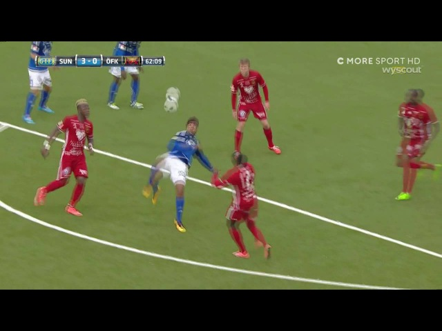 Goal of the year 2016 Noah Sonko Sundberg GIF Sundsvall