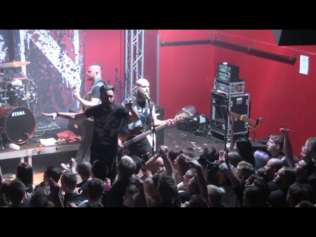 Caliban LIVE Paralyzed Essen, GER Turock 2016-03-26 FULL HD, 1080p