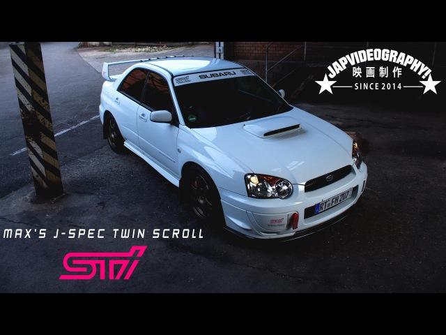 Subaru Impreza WRX STI twin scroll J spec Blobeye