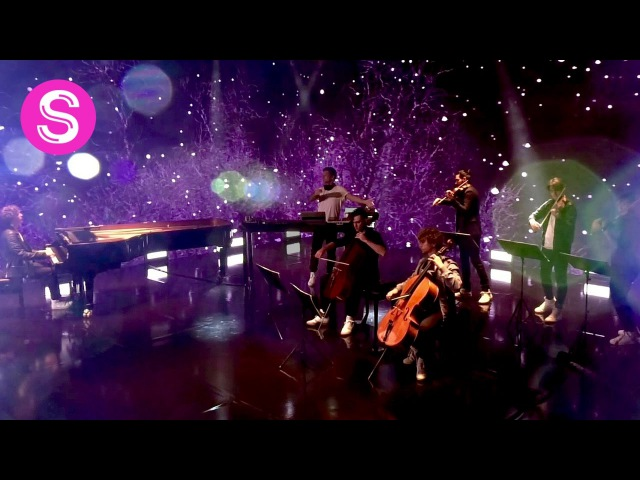 A Sky Full Of Stars Coldplay SYMPHONIACS violin cello piano and electronic version cover