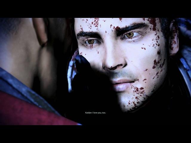 Mass Effect 3 Extended Cut DLC: Squad Evac goodbyes: Kaidan (Gay Romance)