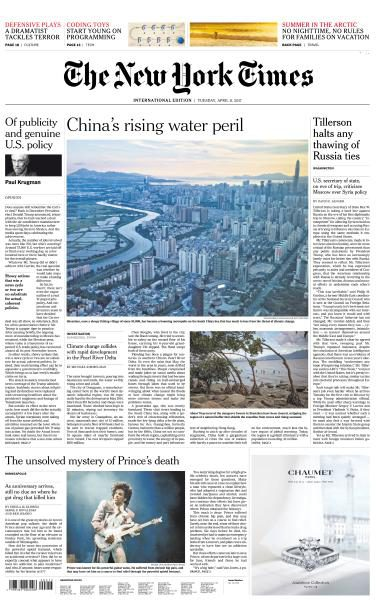 International New York Times 11 April 2017 FreeMags