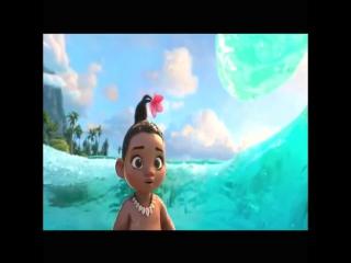 Очень красивый и добрый мульт)) LikeWorld.МАЛЫШКА МОАНА  Японский трейлер мультика Disney  Моана 2016