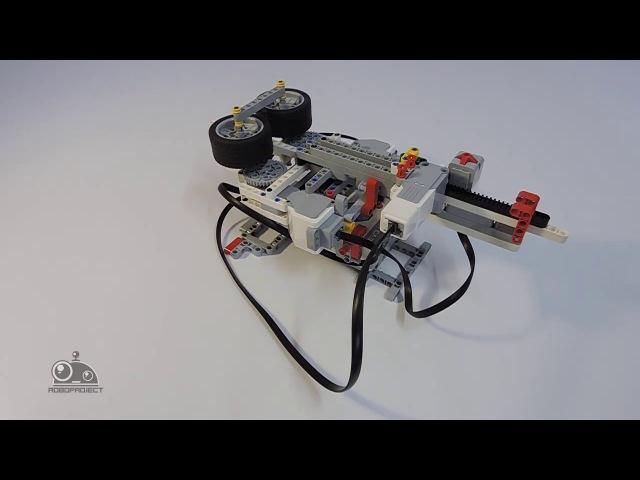 Lego Mindstorms EV3 - Стреломёт