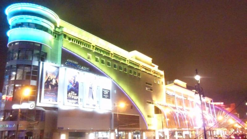 Москва, площадь киевского вокзала, ТЦ Европейский 06.35 МСК 13.10 2016г.