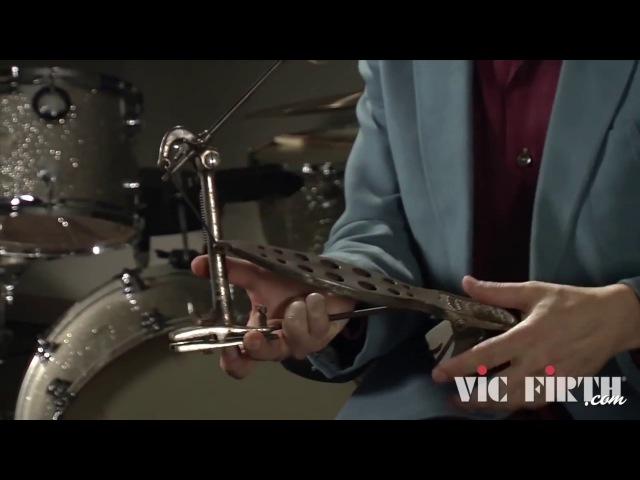 Vic Firth история барабанов Часть 3 1900 педаль для бас бочки