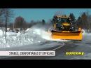 Cotech Grattes à neige sur Harnais à Attache Rapide Cotech Snow Plows on Quick Attach Subframe