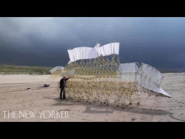 Theo Jansen's Wind-Powered Sculptures | The New Yorker