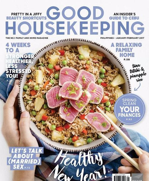 Good Housekeeping Philippines January February 2017