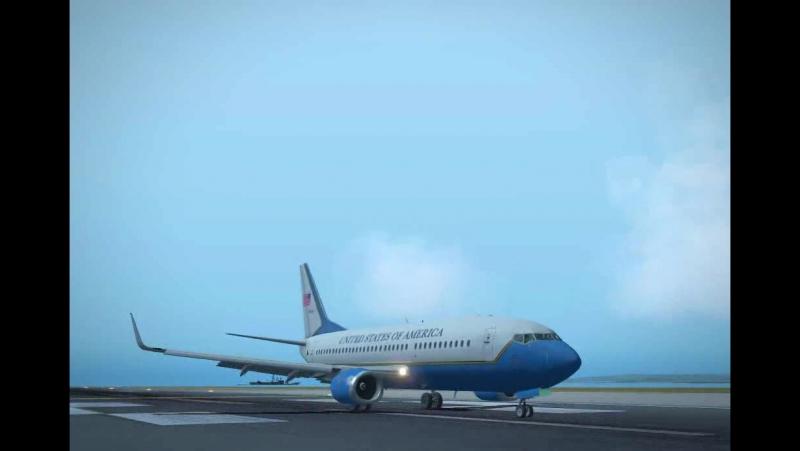 IXEG Boeing 737 300 visual approach landing at RWY09 LXGB X plane 10